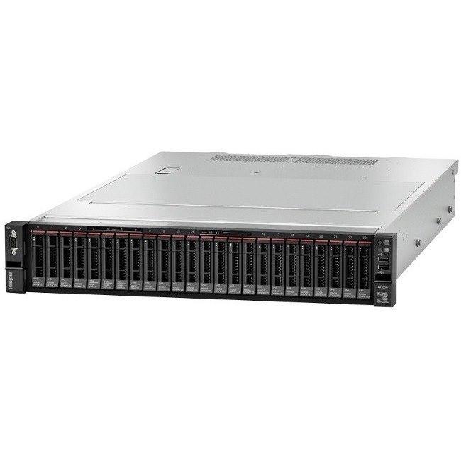 Lenovo ThinkSystem SR650 7X06A06CAU 2U Rack Server - 1 x Xeon Gold 6126 - 32 GB RAM HDD SSD - 12Gb/s SAS, Serial ATA/600 Controller