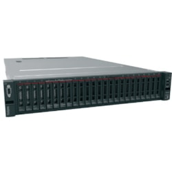 Lenovo ThinkSystem SR650 7X06A08JAU 2U Rack Server - 1 x Intel Xeon Silver 4108 Octa-core (8 Core) 1.80 GHz - 16 GB Installed TruDDR4 - 12Gb/s SAS, Serial ATA/600 Controller - 0, 1, 5, 6, 10, 50, 60, JBOD RAID Levels - 1 x 750 W