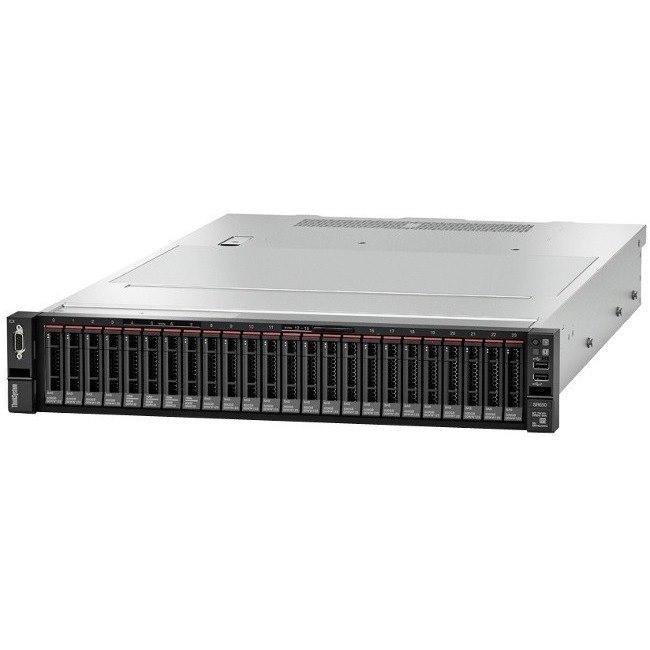 Lenovo ThinkSystem SR650 7X06A08KAU 2U Rack Server - 1 x Intel Xeon Silver 4110 Octa-core (8 Core) 2.10 GHz - 16 GB Installed TruDDR4 - 12Gb/s SAS, Serial ATA/600 Controller - 0, 1, 5, 6, 10, 50, 60, JBOD RAID Levels - 1 x 750 W