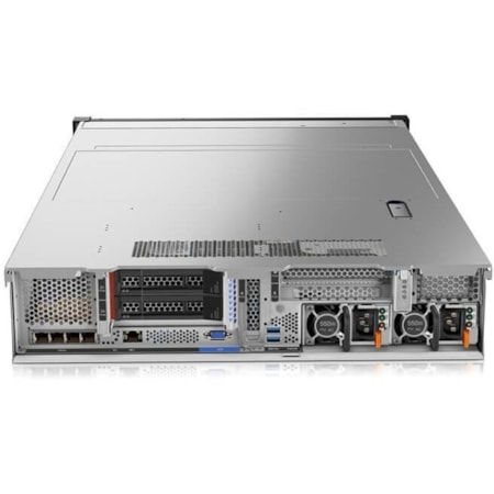 Lenovo ThinkSystem SR650 7X06A08MAU 2U Rack Server - 1 x Intel Xeon Silver 4116 Dodeca-core (12 Core) 2.10 GHz - 16 GB Installed TruDDR4 - 12Gb/s SAS, Serial ATA/600 Controller - 0, 1, 5, 6, 10, 50, 60, JBOD RAID Levels - 1 x 750 W