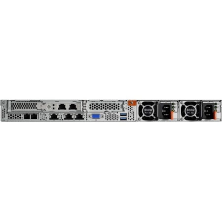 Lenovo ThinkSystem SR530 7X081005AU 1U Rack Server - 1 x Intel Xeon Silver 4110 Octa-core (8 Core) 2.10 GHz - 16 GB Installed TruDDR4 - 12Gb/s SAS, Serial ATA/600 Controller - 0, 1, 5, 10, 50, JBOD RAID Levels - 1 x 750 W
