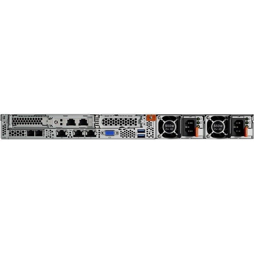 Lenovo ThinkSystem SR530 7X08A032AU 1U Rack Server - 1 x Xeon Silver 4110 - 16 GB RAM HDD SSD - 12Gb/s SAS, Serial ATA/600 Controller