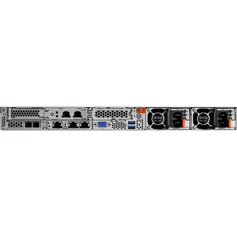 Lenovo ThinkSystem SR530 7X08A03AAU 1U Rack Server - 1 x Xeon Silver 4108 - 16 GB RAM HDD SSD - 12Gb/s SAS, Serial ATA/600 Controller