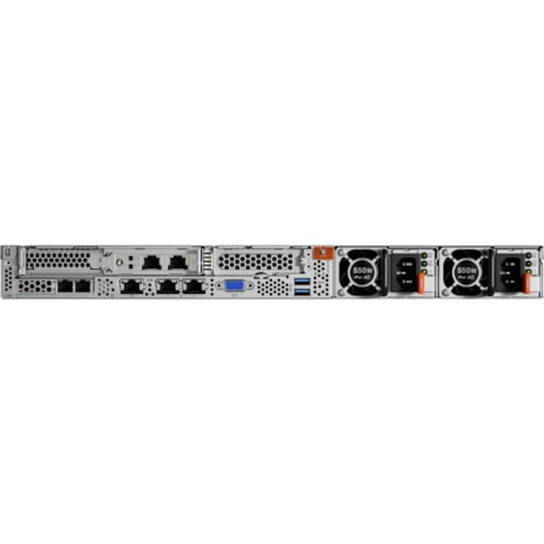 Lenovo ThinkSystem SR530 7X08A09JAU 1U Rack Server - 1 x Xeon Silver 4210 - 32 GB RAM HDD SSD - 12Gb/s SAS, Serial ATA/600 Controller