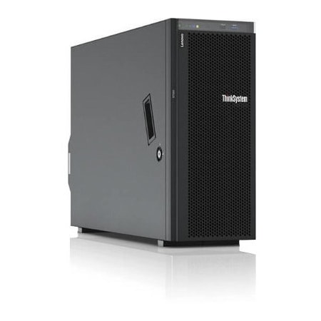 Lenovo ThinkSystem ST550 7X101003AU 4U Tower Server - 1 x Intel Xeon Silver 4116 Dodeca-core (12 Core) 2.10 GHz - 16 GB Installed TruDDR4 - 12Gb/s SAS, Serial ATA/600 Controller - 0, 1, 5, 6, 10, 50, 60, JBOD RAID Levels - 1 x 750 W
