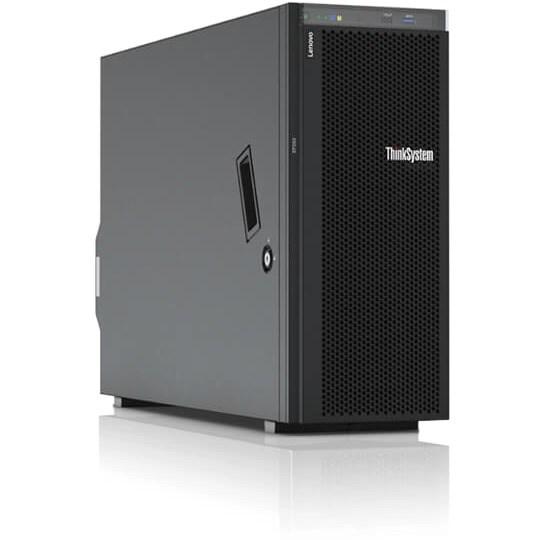 Lenovo ThinkSystem ST550 7X10100CAU 4U Tower Server - 1 x Intel Xeon Silver 4110 Octa-core (8 Core) 2.10 GHz - 16 GB Installed TruDDR4 - 12Gb/s SAS, Serial ATA/600 Controller - 0, 1, 5, 10, 50, JBOD RAID Levels - 1 x 750 W