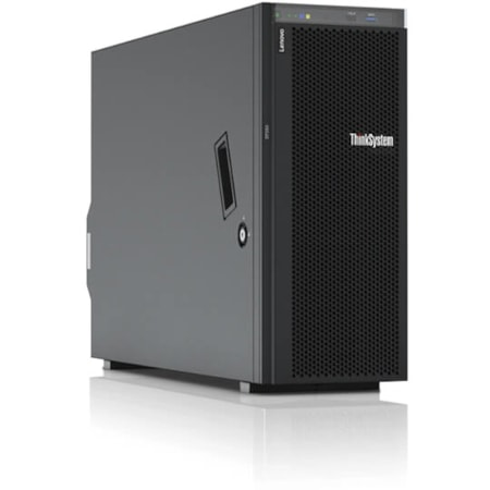 Lenovo ThinkSystem ST550 7X10100DAU 4U Tower Server - 1 x Intel Xeon Bronze 3104 Hexa-core (6 Core) 1.70 GHz - 16 GB Installed TruDDR4 - 12Gb/s SAS, Serial ATA/600 Controller - 0, 1, 5, 10, 50, JBOD RAID Levels - 1 x 750 W