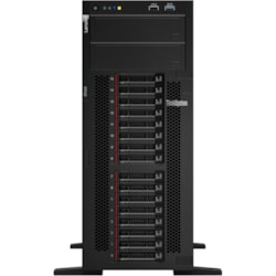 Lenovo ThinkSystem ST550 7X10A0A2AU 4U Tower Server - 1 x Xeon Silver 4210 - 16 GB RAM HDD SSD - 12Gb/s SAS, Serial ATA/600 Controller