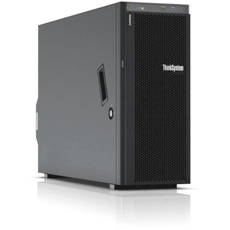 Lenovo ThinkSystem ST550 7X10A0A9AU 4U Tower Server - 1 x Xeon Silver 4208 - 16 GB RAM HDD SSD - 12Gb/s SAS, Serial ATA/600 Controller