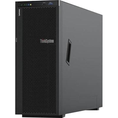 Lenovo ThinkSystem ST550 7X10A0ABAU 4U Tower Server - 1 x Xeon Silver 4214 - 16 GB RAM HDD SSD - 12Gb/s SAS, Serial ATA/600 Controller