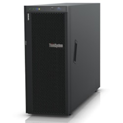 Lenovo ThinkSystem ST550 7X10A0ABAU 4U Tower Server - 1 x Xeon Silver 4214 - 16 GB RAM HDD SSD - 12Gb/s SAS, Serial ATA/600 Controller