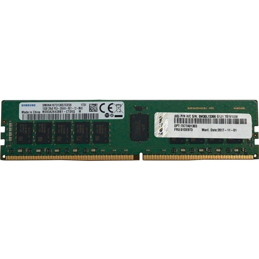 Lenovo RAM Module - 16 GB (1 x 16 GB) - DDR4-2666/PC4-21300 DDR4 SDRAM - CL17 - 1.20 V