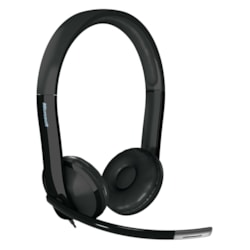 Microsoft LifeChat LX-6000 Wired Stereo Headset - Over-the-head - Supra-aural