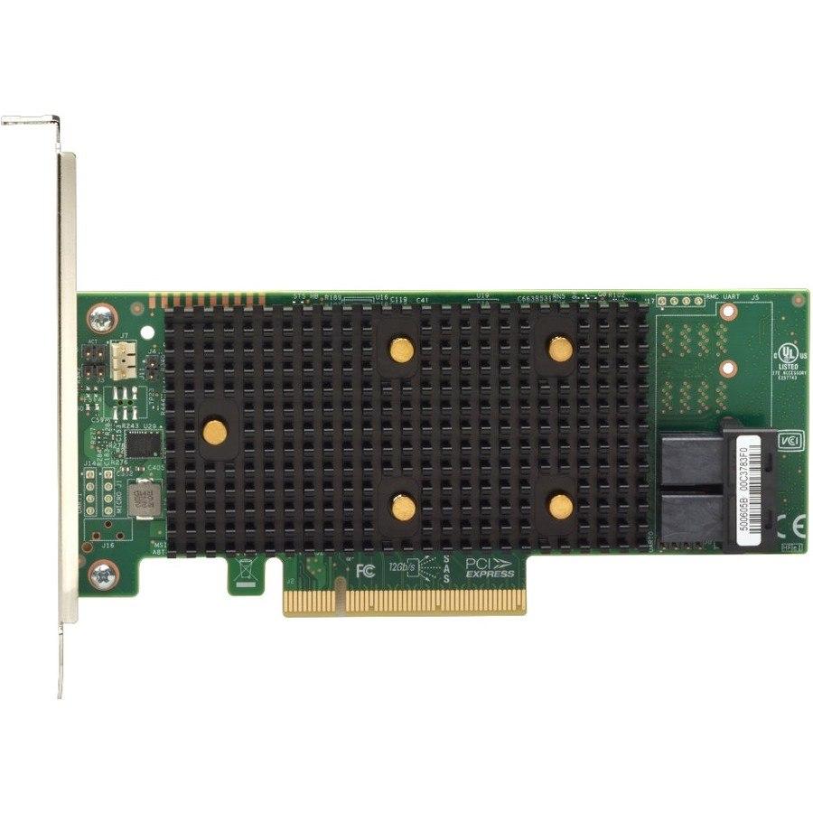 Lenovo 530-8i SAS Controller - 12Gb/s SAS - PCI Express 3.0 x8 - Plug-in Card