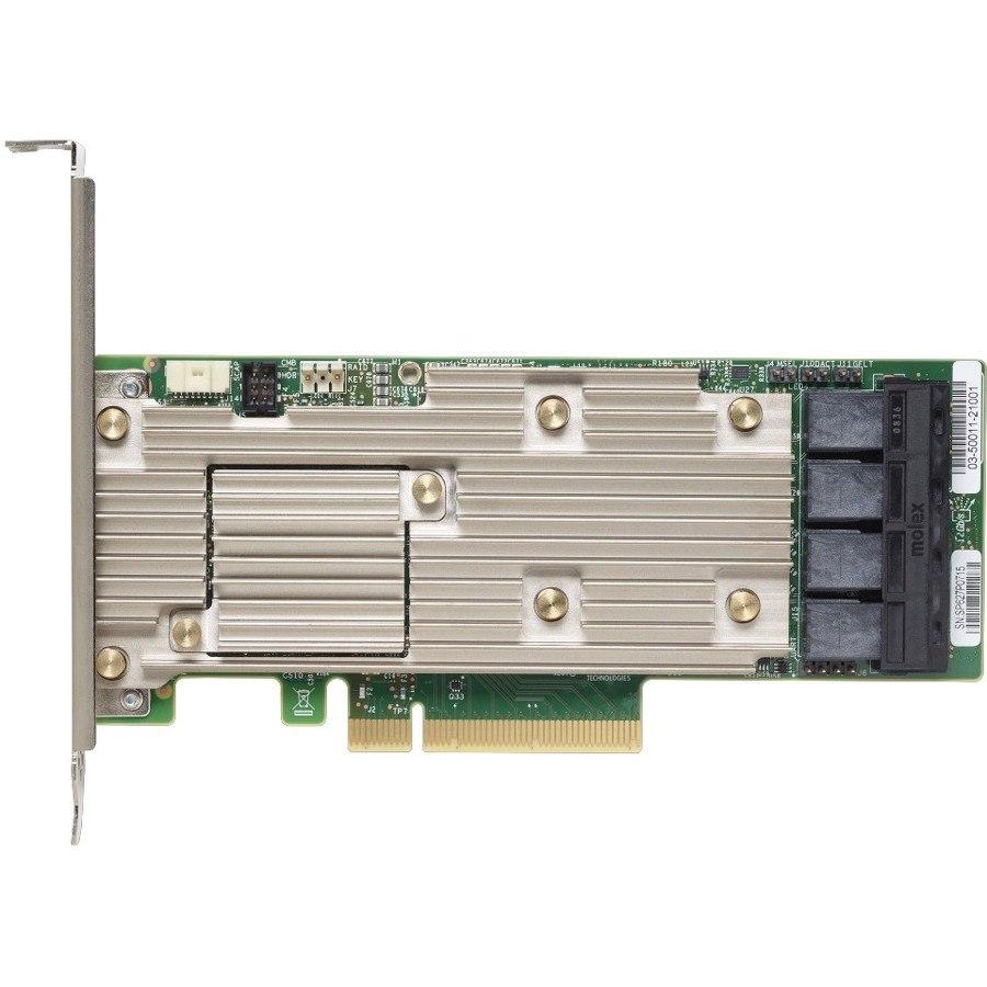 Lenovo 930-16i SAS Controller - 12Gb/s SAS - PCI Express 3.0 x8 - 4 GB Flash Backed Cache - Plug-in Card
