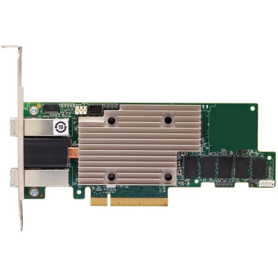 Lenovo 930-8e SAS Controller - 12Gb/s SAS - PCI Express 3.0 x8 - 4 GB Flash Backed Cache - Plug-in Card
