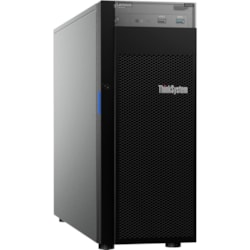 Lenovo ThinkSystem ST250 7Y45A01NAU 4U Tower Server - 1 x Xeon E-2144G - 16 GB RAM HDD SSD - Serial ATA/600 Controller