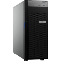 Lenovo ThinkSystem ST250 7Y45A01RAU 4U Tower Server - 1 x Xeon E-2124G - 8 GB RAM HDD SSD - Serial ATA/600 Controller