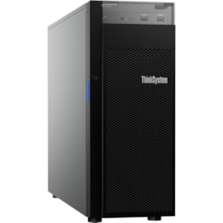 Lenovo ThinkSystem ST250 7Y45A04DAU 4U Tower Server - 1 x Xeon E-2246G - 16 GB RAM HDD SSD - Serial ATA/600, 12Gb/s SAS Controller