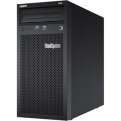 Lenovo ThinkSystem ST50 7Y49A00PAU 4U Tower Server - 1 x Xeon E-2176G - 16 GB RAM HDD SSD - Serial ATA/600 Controller