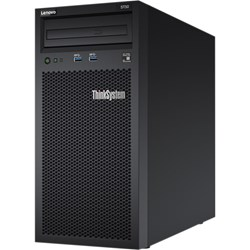 Lenovo ThinkSystem ST50 7Y49A01PAU 4U Tower Server - 1 x Xeon E-2144G - 8 GB RAM HDD SSD - Serial ATA/600 Controller