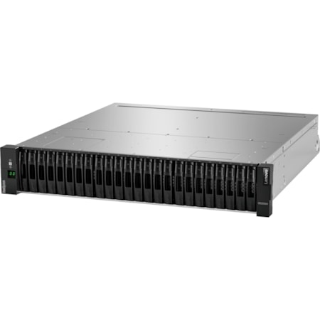 Lenovo ThinkSystem DE2000H 24 x Total Bays SAN Storage System - 2U Rack-mountable