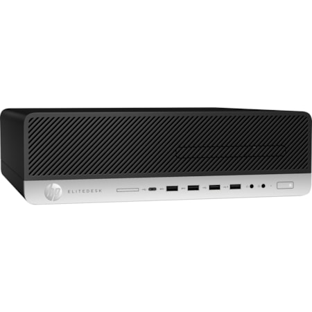 HP EliteDesk 800 G5 Desktop Computer - Core i5 i5-9500 - 8 GB RAM - 256 GB SSD - Small Form Factor