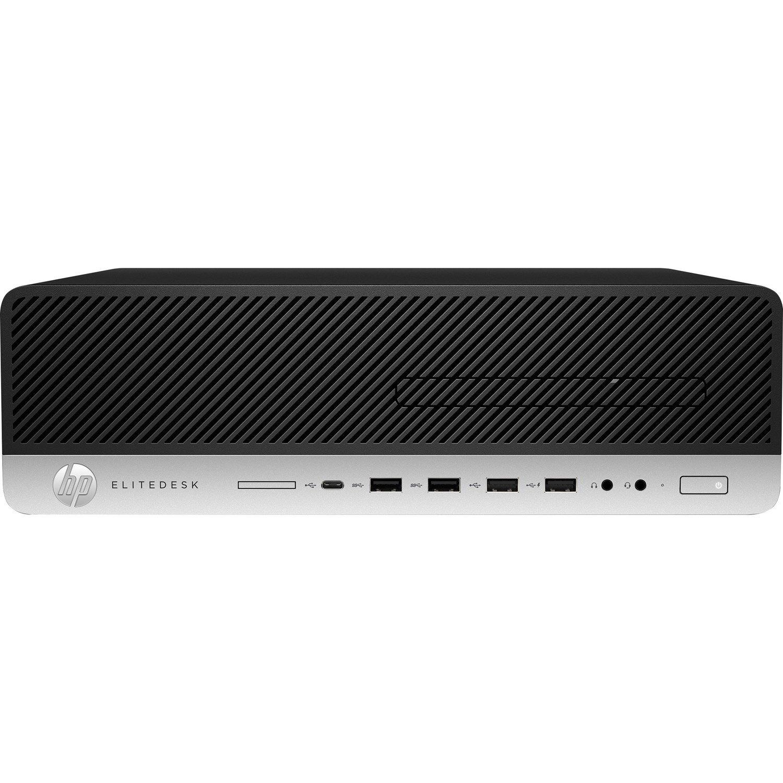 HP EliteDesk 800 G5 Desktop Computer - Intel Core i7 9th Gen i7-9700 3 GHz - 8 GB RAM DDR4 SDRAM - 256 GB SSD - Small Form Factor