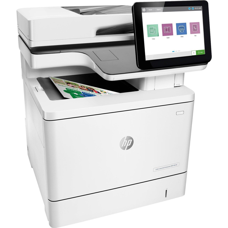 HP LaserJet Enterprise M578 M578f Laser Multifunction Printer - Colour