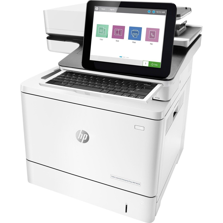 HP LaserJet Enterprise M578 M578z Laser Multifunction Printer - Colour