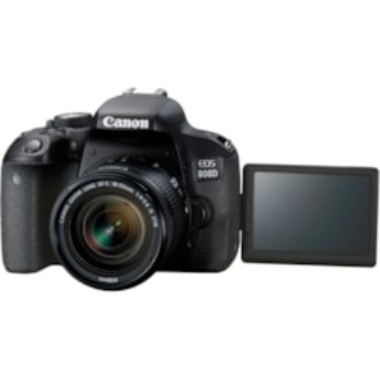 Canon EOS 800D 24 Megapixel Digital SLR Camera with Lens - 18 mm - 55 mm