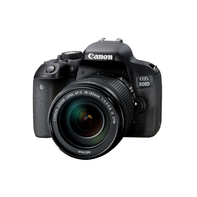 Canon EOS 800D 24 Megapixel Digital SLR Camera with Lens - 18 mm - 135 mm