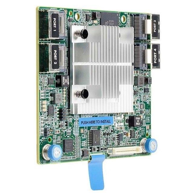 HPE Smart Array P816i-a SAS Controller - 12Gb/s SAS, Serial ATA/600 - PCI Express 3.0 x8 - 4 GB Flash Backed Cache - Plug-in Module