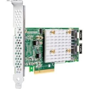 HPE Smart Array E208i-p SAS Controller - 12Gb/s SAS, Serial ATA/600 - PCI Express 3.0 x8 - 2 GB Flash Backed Cache - Plug-in Card