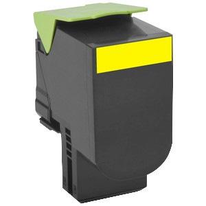 Lexmark Unison 808HY Original Toner Cartridge - Yellow