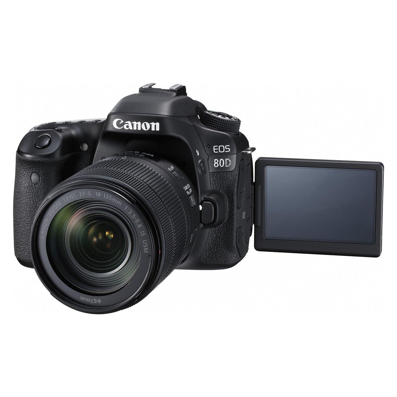 Canon EOS 80D 24.2 Megapixel Digital SLR Camera with Lens - 18 mm - 55 mm