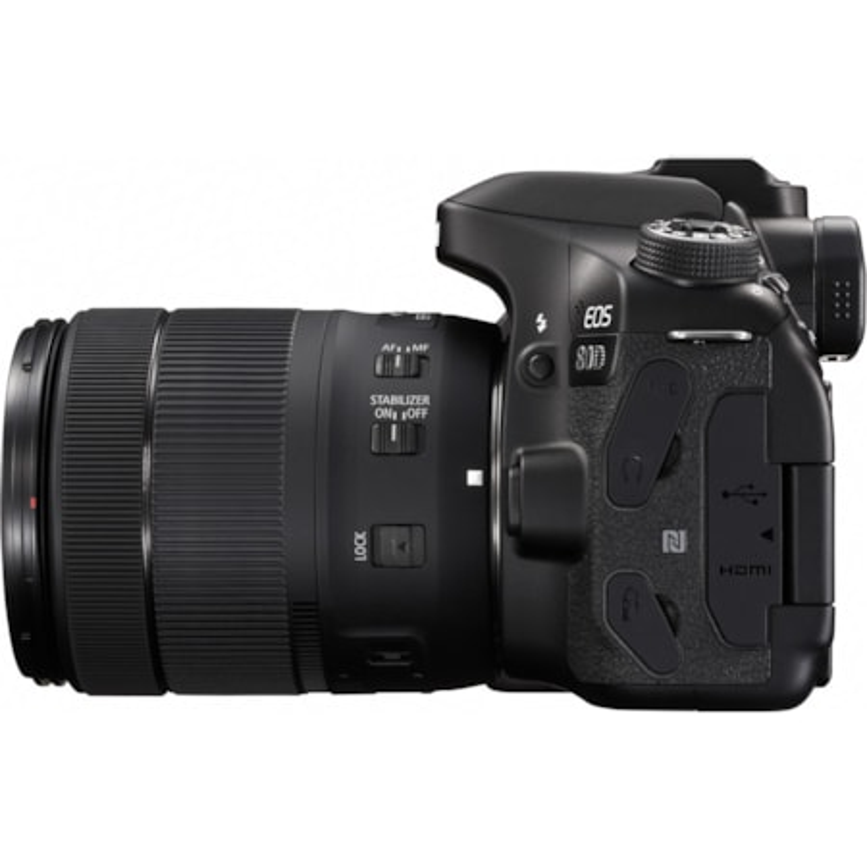 Canon EOS 80D 24.2 Megapixel Digital SLR Camera with Lens - 18 mm - 135 mm