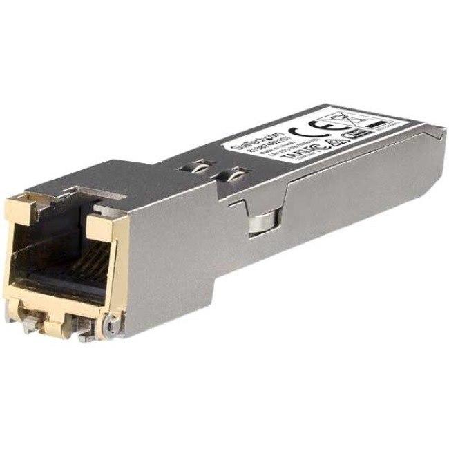 StarTech.com SFP+ - 1 RJ-45 10GBase-T Network LAN