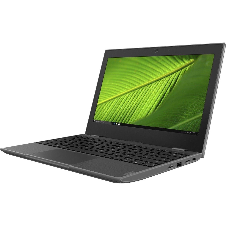 "Lenovo 100e Windows 2nd Gen 81M80011AU 29.5 cm (11.6"") Netbook - 1366 x 768 - Celeron N4100 - 4 GB RAM - 128 GB Flash Memory - Grey"