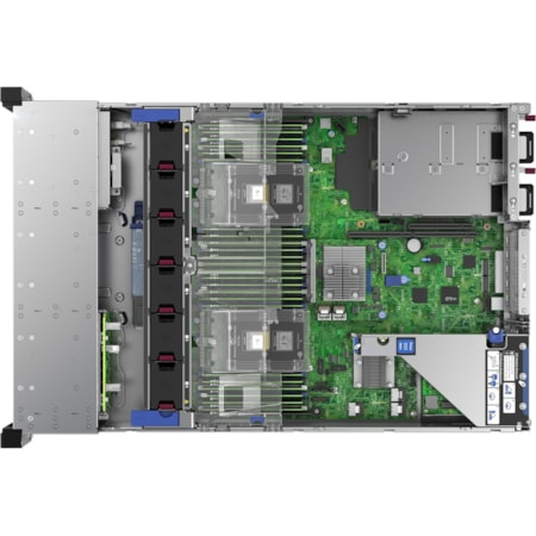 HPE ProLiant DL380 G10 2U Rack Server - 1 x Intel Xeon Bronze 3106 Octa-core (8 Core) 1.70 GHz - 16 GB Installed DDR4 SDRAM - Serial ATA Controller - 1 x 500 W