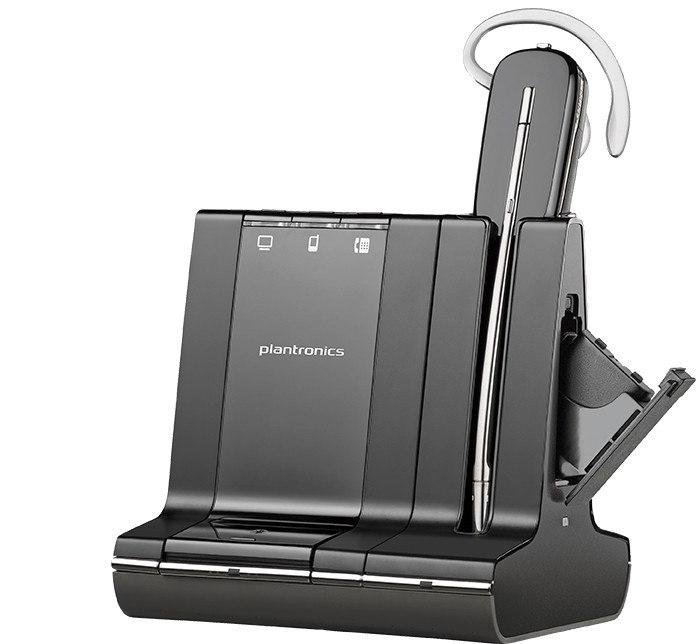 Plantronics Savi W745 Wireless Earbud, Over-the-ear Mono Earset
