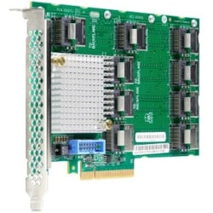 HPE DL38X SAS Controller Expander - 12Gb/s SAS, Serial ATA/600 - PCI Express 3.0 x8 - Plug-in Card