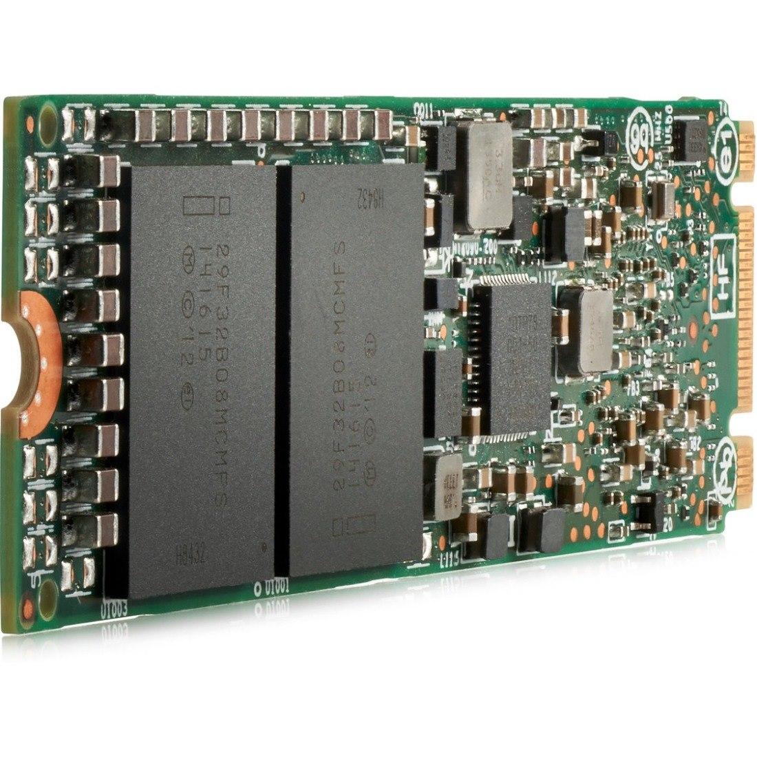 HPE 480 GB Solid State Drive - PCI Express (PCI Express x4) - Internal - M.2 22110