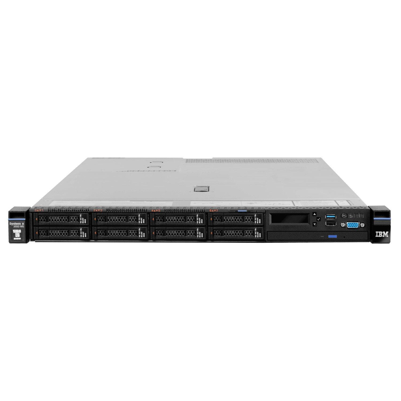 Lenovo System x x3550 M5 8869F2G 1U Rack Server - 1 x Intel Xeon E5-2640 v4 Deca-core (10 Core) 2.40 GHz - 16 GB Installed TruDDR4 - 12Gb/s SAS, Serial ATA Controller - 0, 1, 5, 10, 50 RAID Levels - 1 x 550 W