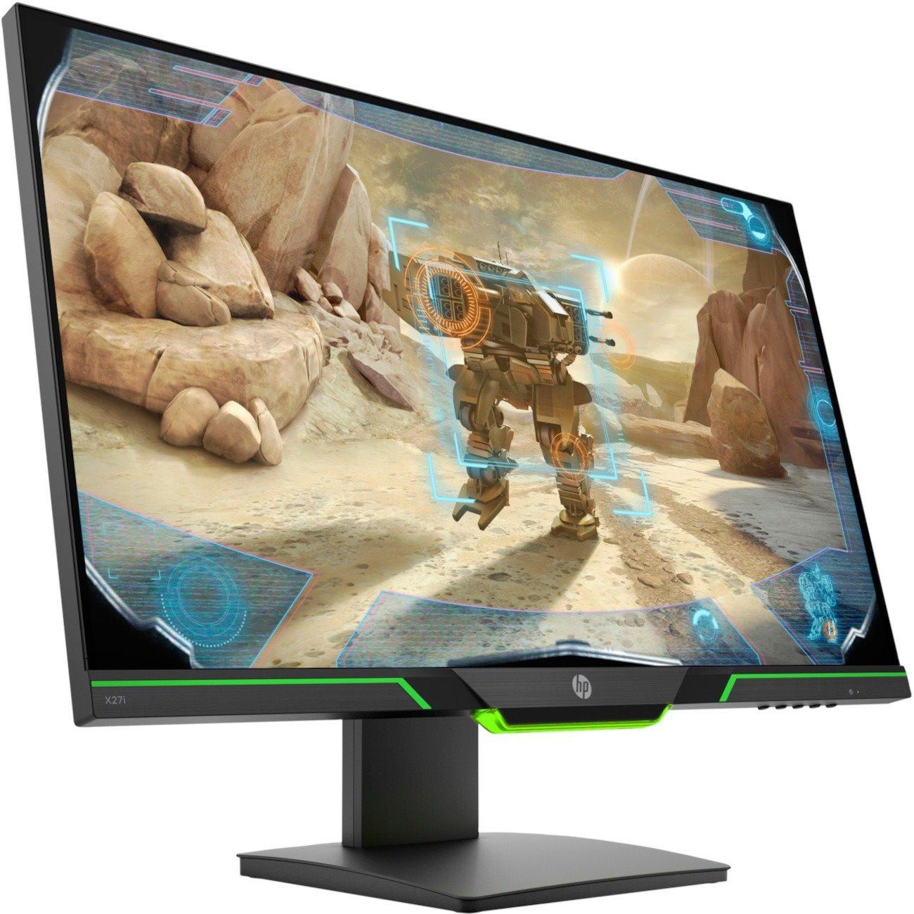 "HP X27i 68.6 cm (27"") WQHD LED Gaming LCD Monitor - 16:9 - Black"
