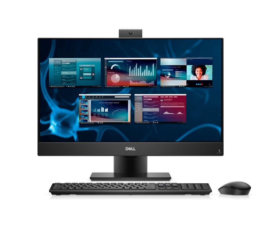 "Dell OptiPlex 7000 7480 All-in-One Computer - Intel Core i5 10th Gen i5-10500 Hexa-core (6 Core) 3.10 GHz - 16 GB RAM DDR4 SDRAM - 256 GB SSD - 60.5 cm (23.8"") Full HD 1920 x 1080 Touchscreen Display - Desktop"