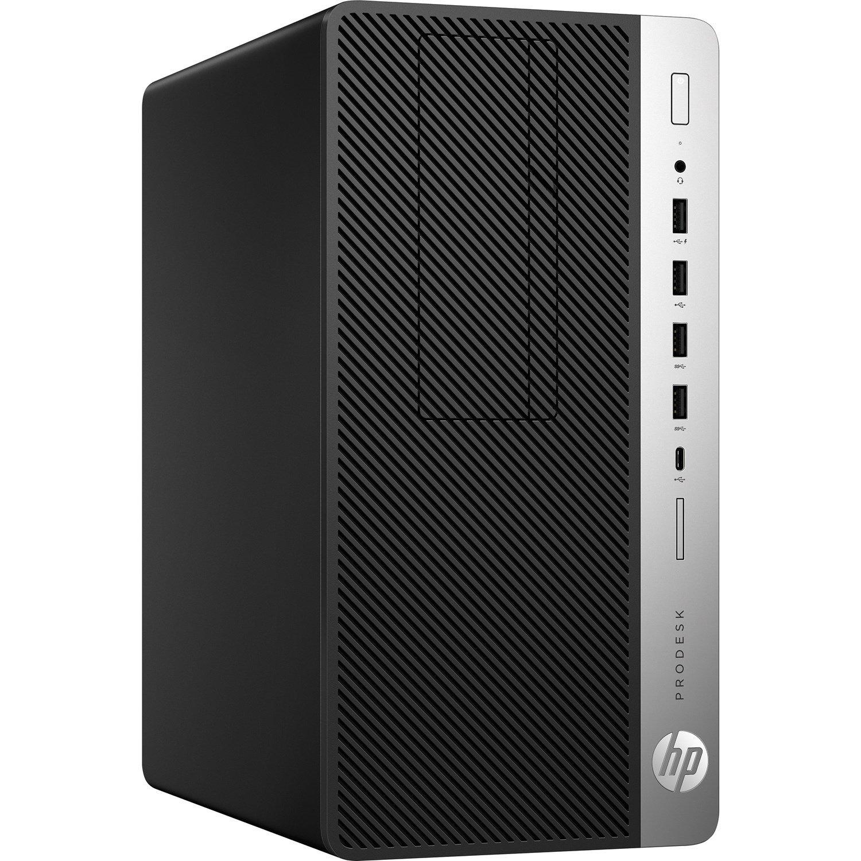 HP Business Desktop ProDesk 600 G5 Desktop Computer - Core i5 i5-9500 - 8 GB RAM - 512 GB SSD - Micro Tower