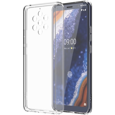 Nokia Premium Case for Nokia 9 Smartphone - Transparent