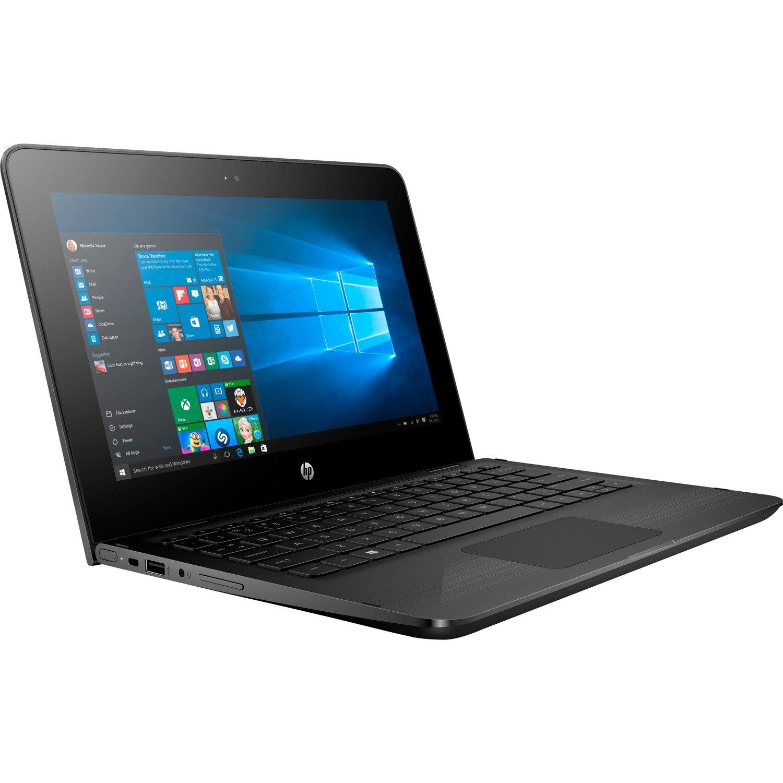 "HP x360 11-ab100 11-ab134tu 29.5 cm (11.6"") Touchscreen 2 in 1 Notebook - HD - 1366 x 786 - Intel Pentium Silver N5000 Quad-core (4 Core) 1.10 GHz - 4 GB RAM - 128 GB SSD - Jet Black"