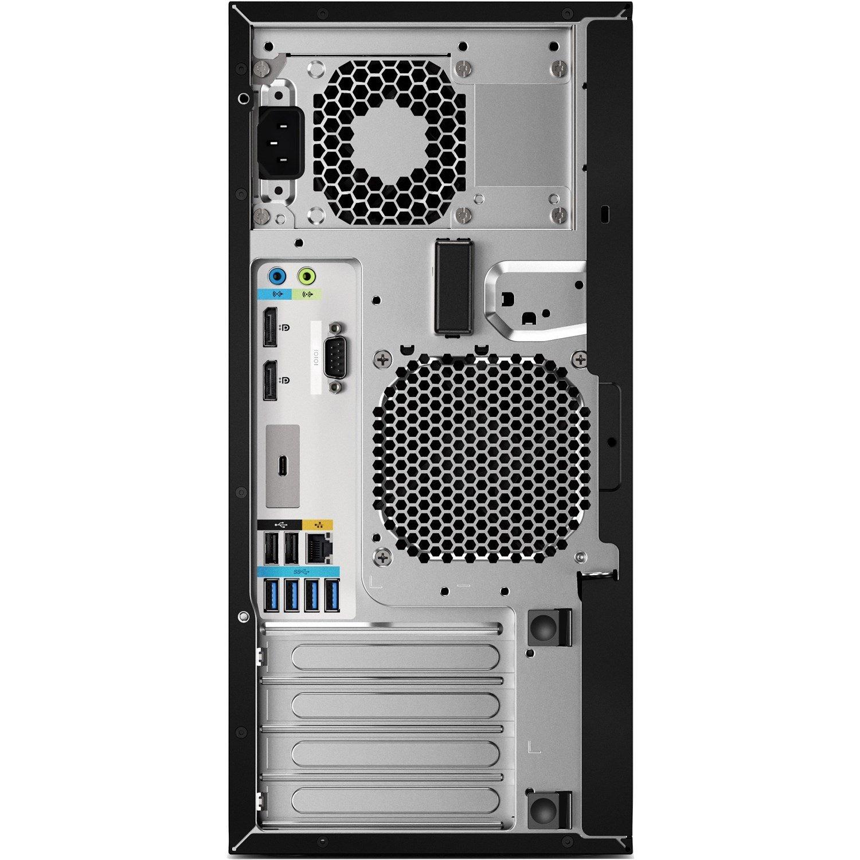 HP Z2 G4 Workstation - 1 x Xeon E-2224G - 16 GB RAM - 1 TB HDD - 512 GB SSD - Mini-tower - Black